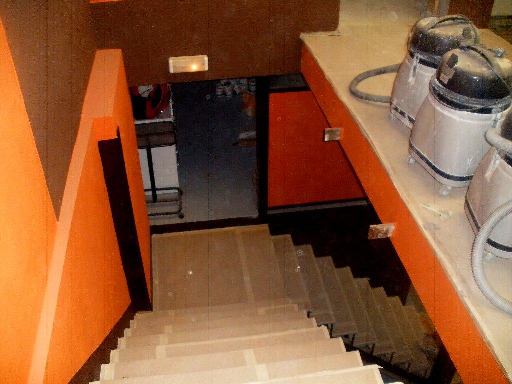 detalle nave escalera