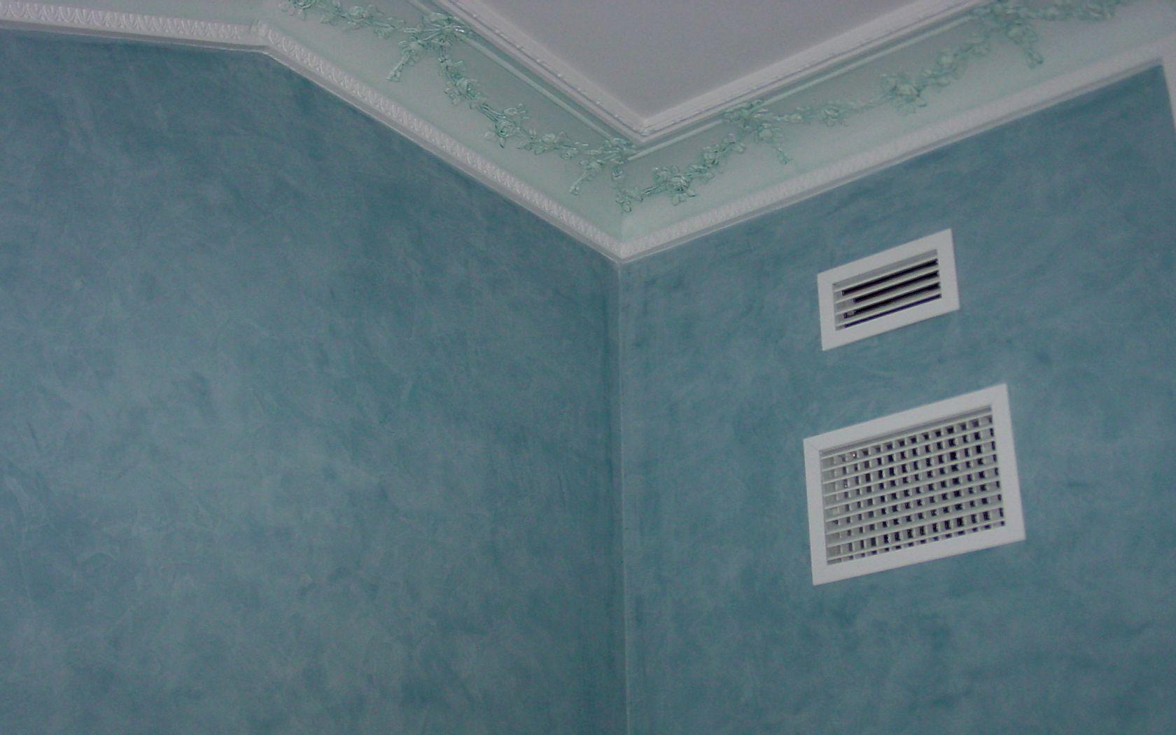 Pintura estuco azul 01 pictor decoris for Pintura color marmol