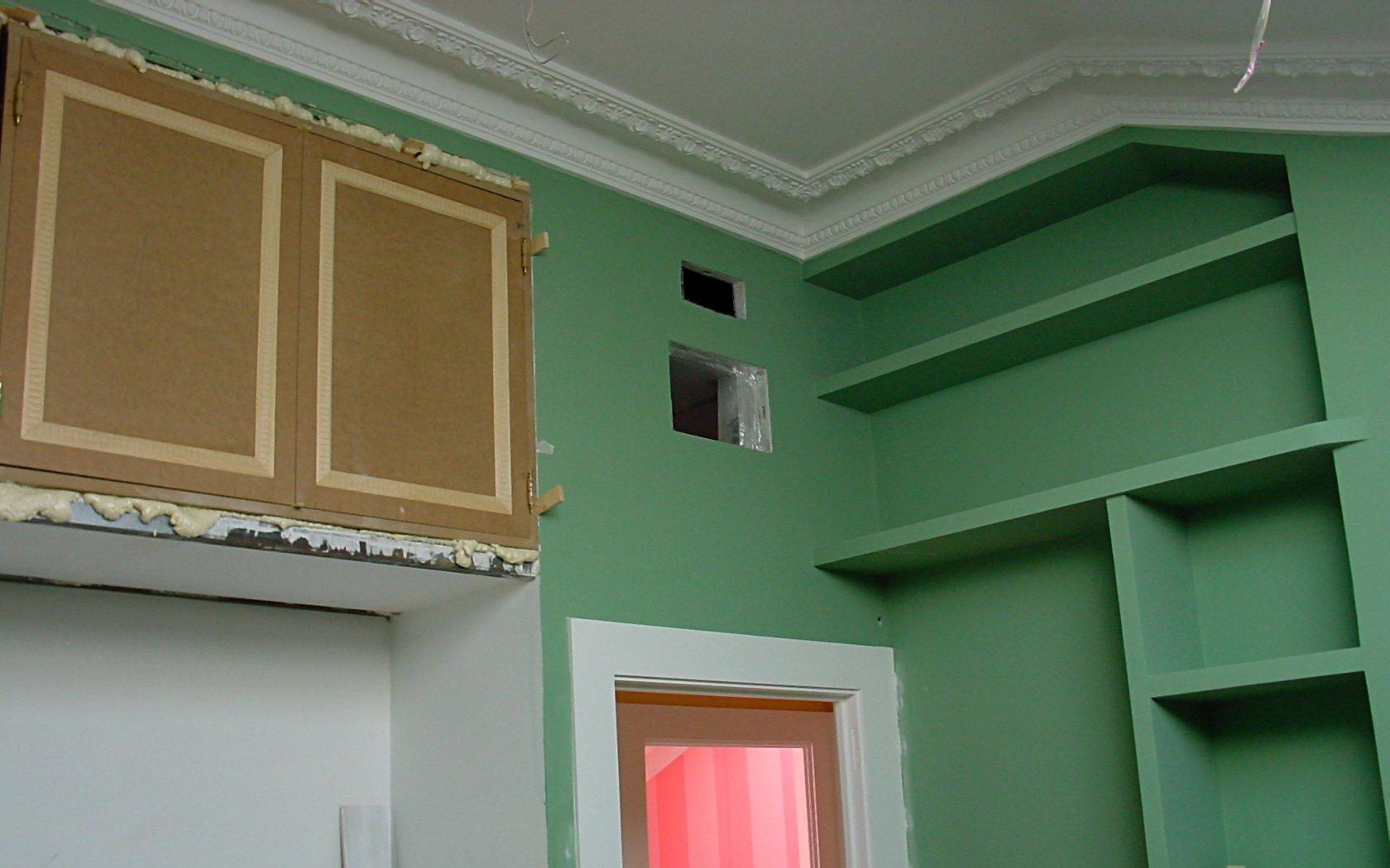 Pintura habitacion detalle esquina pictor decoris - Pintura para habitacion ...