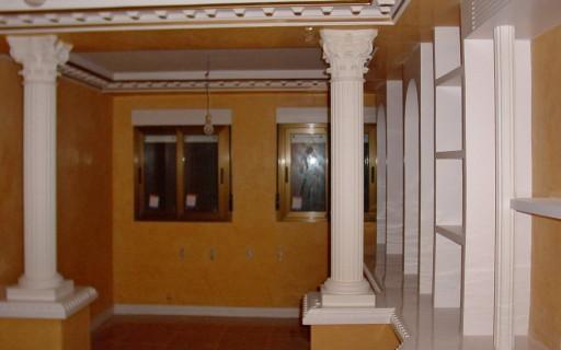 Pintura en general empapelado papel pintado pintura - Escayola decorativa techo ...